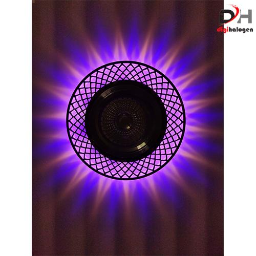 هالوژن کریستالی با رویه استیل اس اچ لایتینگ کد 601 (SH.LIGHTING)