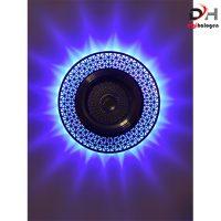 هالوژن کریستالی با رویه استیل اس اچ لایتینگ کد 603 (SH.LIGHTING)