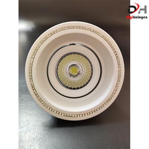 Halogen Aluminum Lighting White Model 602 White (SH.LIGHTING)