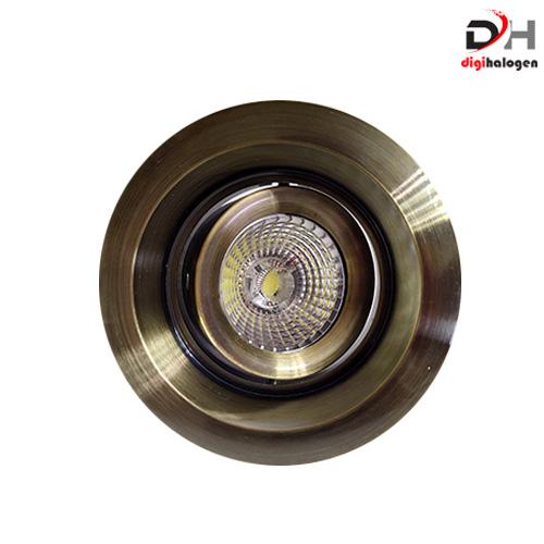 هالوژن تمام آلومینیومی اس اچ لایتینگ کد TM301 طرح طلایی (SH.LIGHTING)