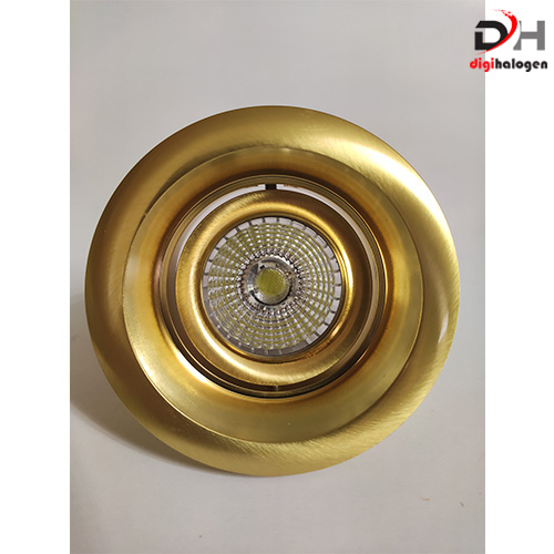 هالوژن تمام آلومینیومی اس اچ لایتینگ کد TM304 طرح طلایی (SH.LIGHTING)