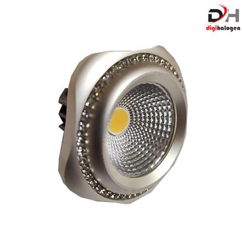 هالوژن پارکتی نگین دار اس اچ لایتینگ مدل ns103 نقره ای (SH.LIGHTING)