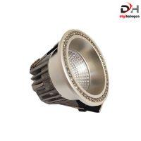 هالوژن پارکتی نگین دار اس اچ لایتینگ مدل nsd202 نقره ای (SH.LIGHTING)