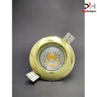 هالوژن آلومینیومی براق طلایی مدل DHB300